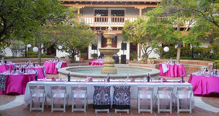 Rancho Bernardo Courtyard Venue