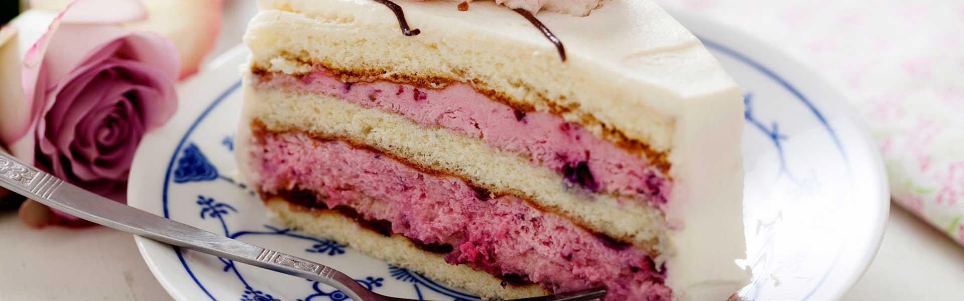 Slice of Wedding Cake