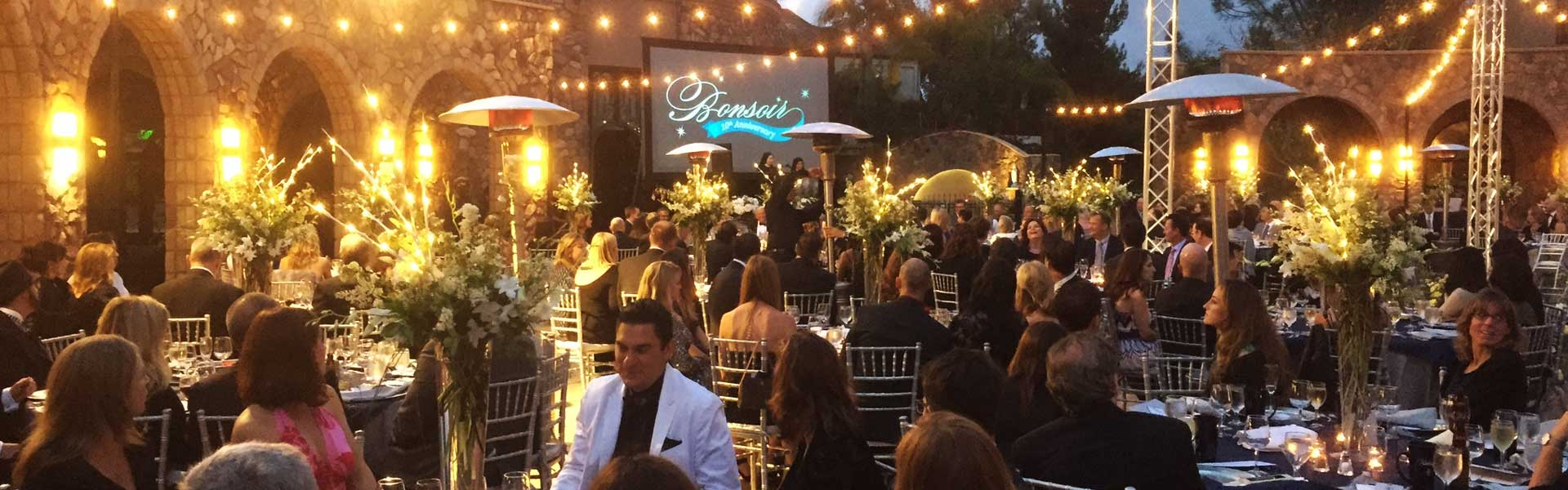 Corporate Event - Outside Location