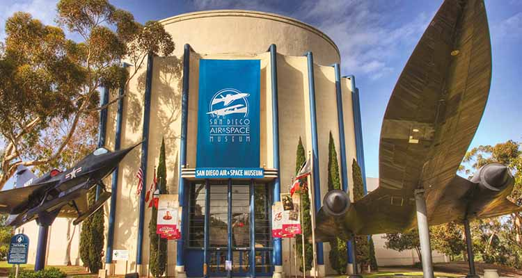 San Diego Air & Space Museum Venue