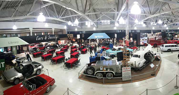 San Diego Automotive Museum Venue