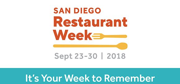 San DIego Restaurant Week Banner